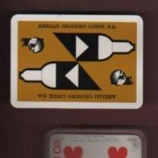 Barajas de cartas: BARAJA DE PÓKER - JUEGO DE CARTAS - PUBLICIDAD ABELLO OXIGENO LINDE SA - DE H. FOURNIER DE VITORIA. Lote 140361406