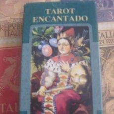 Barajas de cartas: BARAJA. TAROT ENCANTADO 78 CARTAS, LO SCARBEO -- PRECINTADO. Lote 140593898