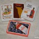 Barajas de cartas: LOTE 4 BARAJAS FOURNIER PUBLICIDAD BEBIDAS - A ESTRENAR - ZOCO, VETERANO, BASARANA ... - HAZ OFERTA. Lote 140630466