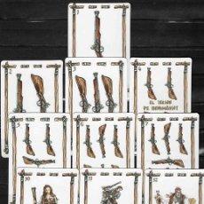 Barajas de cartas: ANTIGUA BARAJA DE COLECCIÓN. BANDOLEROS VALENCIANOS DE 1874.. Lote 183367516