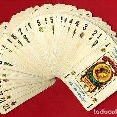 Barajas de cartas: BARAJA SIMEON DURA VALENCIA , CHOCOLATES ANGELICAL , CASI COMPLETA, FALTA 2 ESPADAS , 48 NAIPES , B. Lote 140766634