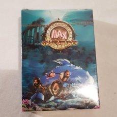 Barajas de cartas: BARAJA DE CARTAS PROMOCION FRIGO SERIE DIBUJOS ANIMADOS MAX ADVENTURES DESCATALOGADO POCAS UNIDADES. Lote 155522208