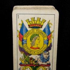Barajas de cartas: BARAJA REPUBLICA ESPAÑOLA. FOURNIER. COMPLETA.ORIGINAL.--NO REEDICION-- VITORIA. Lote 140801866