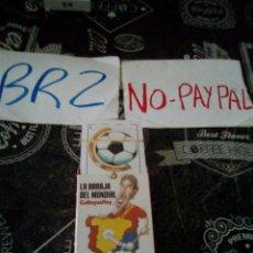 Barajas de cartas: BARAJA DEL MUNDIAL GALLEGO Y REY INTERVIU GRUPO Z. Lote 140846240