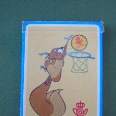 Barajas de cartas: BARAJA DE 54 CARTAS. POKER ESPAÑOL. HERACLIO FOURNIER. VITORIA. PUBLICIDAD CAJA POSTAL. SIN ABRIR.. Lote 140861862