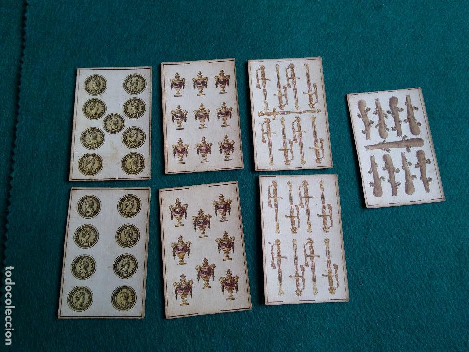 LOTE CARTAS ANTIGUAS (Juguetes y Juegos - Cartas y Naipes - Otras Barajas)