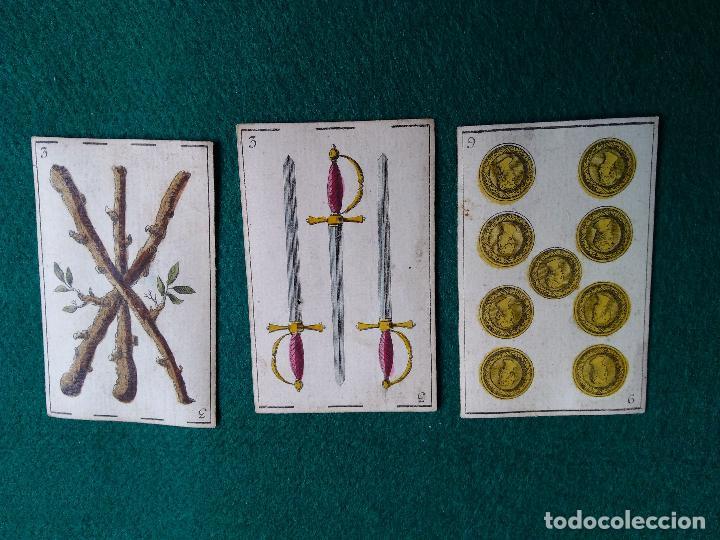 CARTAS BARAJA PRINCIPIOS SIGLO XIX (Juguetes y Juegos - Cartas y Naipes - Otras Barajas)