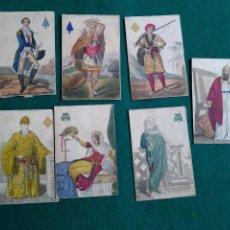 Barajas de cartas: LOTE FIGURAS MUY RARAS. Lote 140905406