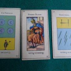 Barajas de cartas: TRES CARTAS SUELTAS. Lote 140905838