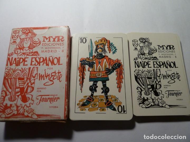 BARAJA DE NAIPES POR MINGOTE CAJA ROJA (Juguetes y Juegos - Cartas y Naipes - Otras Barajas)