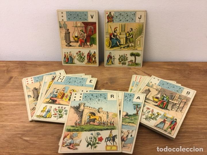 TAROT BARAJA DE CARTAS - MLLE LENORMAND 1890 - 52 CARTAS- 13X9 (Juguetes y Juegos - Cartas y Naipes - Barajas Tarot)