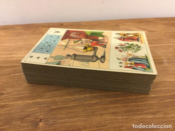 Barajas de cartas: TAROT BARAJA DE CARTAS - MLLE LENORMAND 1890 - 52 CARTAS- 13x9 - Foto 2 - 145470377