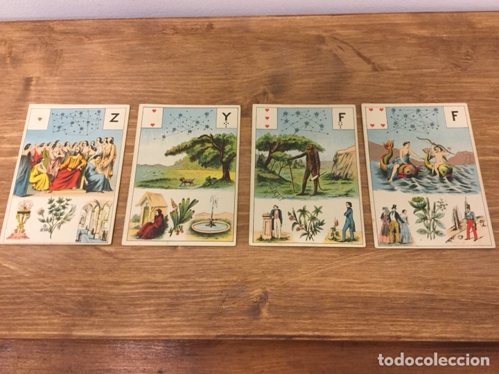 Barajas de cartas: TAROT BARAJA DE CARTAS - MLLE LENORMAND 1890 - 52 CARTAS- 13x9 - Foto 9 - 145470377