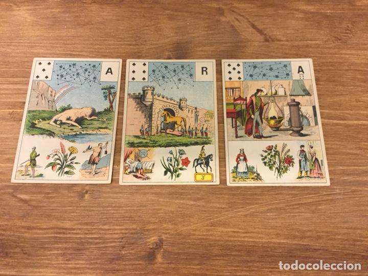 Barajas de cartas: TAROT BARAJA DE CARTAS - MLLE LENORMAND 1890 - 52 CARTAS- 13x9 - Foto 12 - 145470377