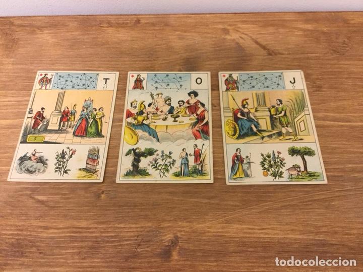 Barajas de cartas: TAROT BARAJA DE CARTAS - MLLE LENORMAND 1890 - 52 CARTAS- 13x9 - Foto 14 - 145470377