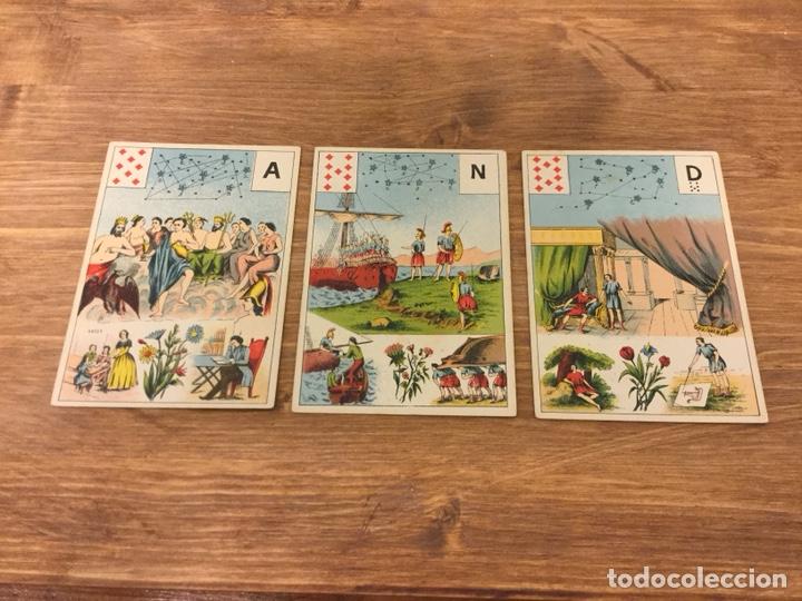 Barajas de cartas: TAROT BARAJA DE CARTAS - MLLE LENORMAND 1890 - 52 CARTAS- 13x9 - Foto 15 - 145470377