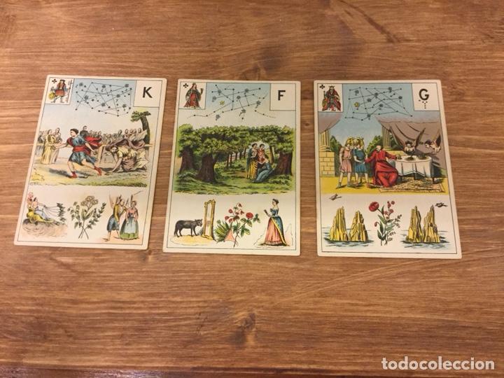 Barajas de cartas: TAROT BARAJA DE CARTAS - MLLE LENORMAND 1890 - 52 CARTAS- 13x9 - Foto 18 - 145470377