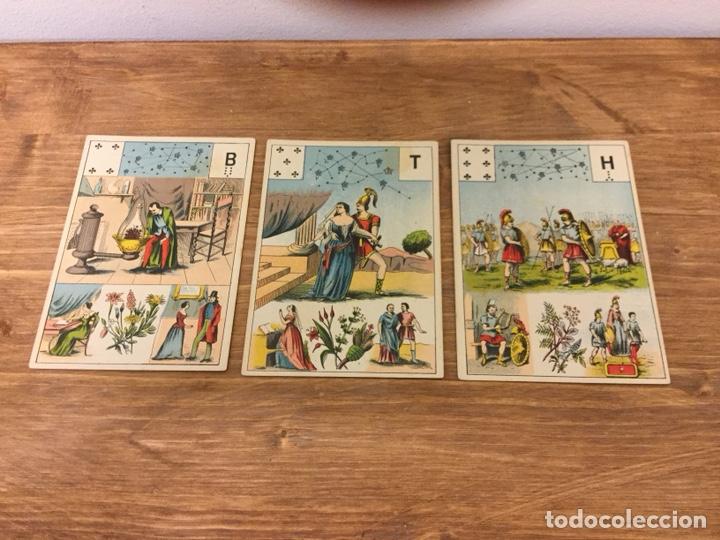 Barajas de cartas: TAROT BARAJA DE CARTAS - MLLE LENORMAND 1890 - 52 CARTAS- 13x9 - Foto 20 - 145470377