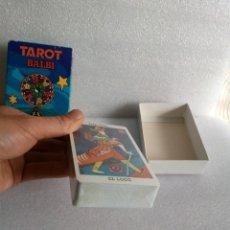 Barajas de cartas: TAROT BALBI EN CAJA CARTAS PRECINTADAS ECHO EN FALTA FOLLETO INSTRUCIONES. Lote 141302714