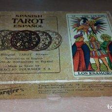 Barajas de cartas: BARAJA TAROT FOURNIER 78 CARDS COMPLETO. Lote 141501002