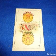 Barajas de cartas: PEDRO MALDONADO - NAIPE ANTIGUO DE LA BARAJA PEDRO MALDONADO EN CARTON! SM. Lote 141585386
