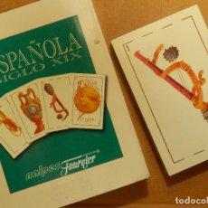 Barajas de cartas: BARAJA ESPAÑOLA SIGLO XIX - NAIPES - JUEGO DE CARTAS - EDICIÓN CASINO GRAN MADRID -. Lote 141613654