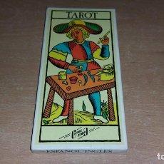 Barajas de cartas: BARAJA TAROT NAIPES COMAS. Lote 142977868
