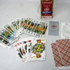 Barajas de cartas: TAROT GRIMAUD FRANCE 78 CARTAS 100% PLASTICO. Lote 141706942