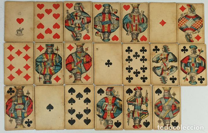 BARAJA AUSTRIACA DE 20 CARTAS. FRIEDERICH PIATNIK AND SÖHNE. CIRCA 1920. (Juguetes y Juegos - Cartas y Naipes - Baraja Española)
