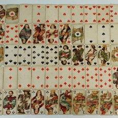 Barajas de cartas: BARAJA DEL TAROT. COMPLETA 78 CARTAS. B. DONDORF. ALEMANIA. SIGLO XIX-XX. Lote 141894366