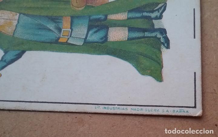 Barajas de cartas: BARAJA INFANTIL NAIPES REVERSO FUTBOLISTAS SAMITIER ZAMORA QUINCOCES FÚTBOL ÉPOCA REPÚBLICA - Foto 7 - 141926606