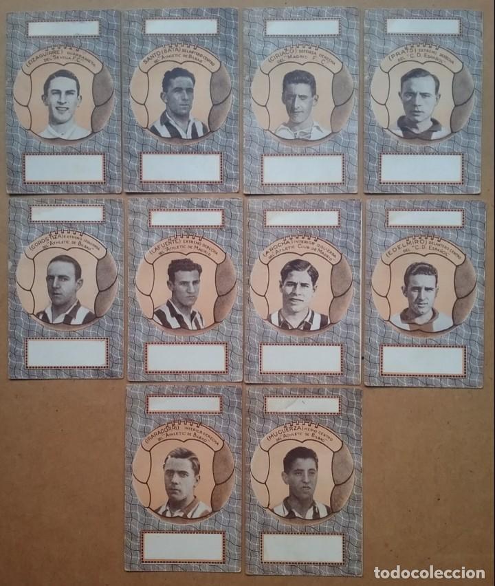 Barajas de cartas: BARAJA INFANTIL NAIPES REVERSO FUTBOLISTAS SAMITIER ZAMORA QUINCOCES FÚTBOL ÉPOCA REPÚBLICA - Foto 14 - 141926606
