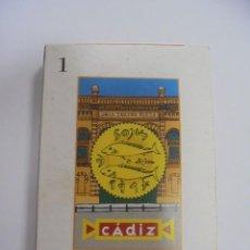 Barajas de cartas: BARAJA DE CARTAS. CADIZ. CANTANDO LAS 40. LA BARAJA DEL CARNAVAL DE CADIZ. Lote 142039558