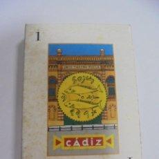 Barajas de cartas: BARAJA DE CARTAS. CADIZ. CANTANDO LAS 40. LA BARAJA DEL CARNAVAL DE CADIZ. Lote 142039634