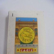 Barajas de cartas: BARAJA DE CARTAS. CADIZ. CANTANDO LAS 40. LA BARAJA DEL CARNAVAL DE CADIZ. Lote 142039770