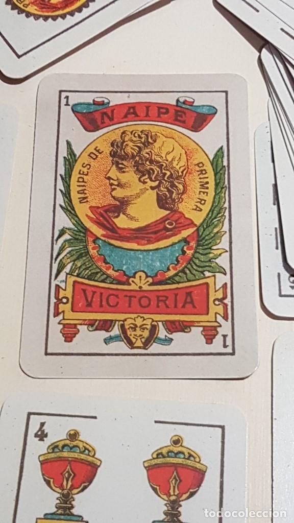 Barajas de cartas: BARAJA VICTORIA. ARGENTINA Siglo XX 1915. FACSIMIL DEL ORIGINAL DEL MUSEO FOURNIER ÁLAVA. - Foto 2 - 142241730