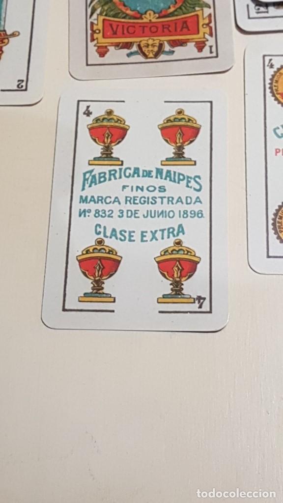 Barajas de cartas: BARAJA VICTORIA. ARGENTINA Siglo XX 1915. FACSIMIL DEL ORIGINAL DEL MUSEO FOURNIER ÁLAVA. - Foto 4 - 142241730
