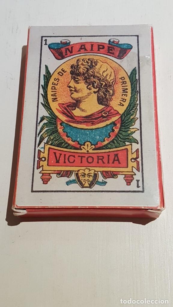 Barajas de cartas: BARAJA VICTORIA. ARGENTINA Siglo XX 1915. FACSIMIL DEL ORIGINAL DEL MUSEO FOURNIER ÁLAVA. - Foto 7 - 142241730