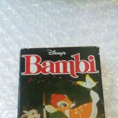 Barajas de cartas: BARAJA DE CARTAS BAMBI DISNEY FOURNIER AÑOS 80. Lote 142265882