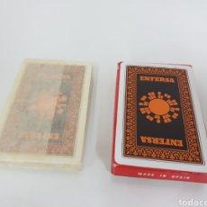 Barajas de cartas: BARAJA SIN ESTRENAR FOURNIER NAIPES ESPAÑOLES 40 CARTAS CON REVERSO ENFERSA. Lote 142514296