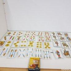 Barajas de cartas: BARAJA DE NAIPES ESPAÑOLA DE 40 CARTAS FOURNIER SOBERANO. Lote 142515653