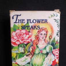 Barajas de cartas: CARTAS TAROT THE FLOWER SPEAKS. Lote 142702478