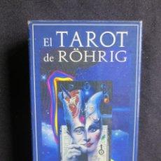 Barajas de cartas: CARTAS EL TAROT DE ROHRIG. Lote 142704794