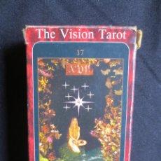 Barajas de cartas: CARTAS THE VISION TAROT. Lote 142709042