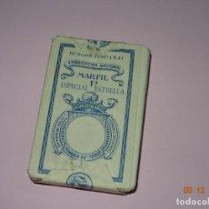 Barajas de cartas: ANTIGUA BARAJA ESPAÑOLA MARFIL 1ª ESPECIAL ESTRELLA DE HIJA DE B. FOURNIER S.L. SIN ABRIR - AÑO 1930. Lote 142730822