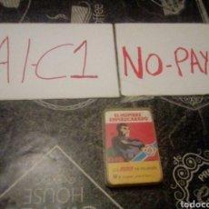 Barajas de cartas: MINI BARAJA DE CARTAS HERACLIO FOURNIER EL HOMBRE ENMASCARADO. Lote 142735954