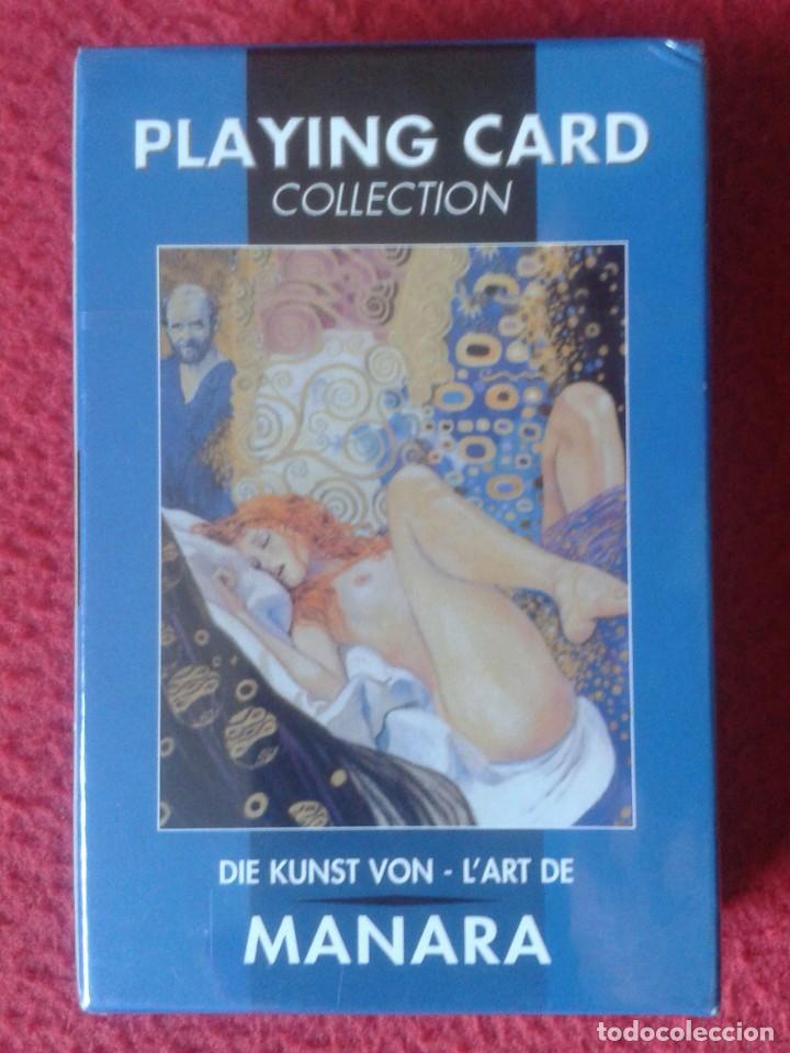 BARAJA DE CARTAS PLAYING CARD COLLECTION CARDS THE ART OF EL ARTE MANARA PRECINTADA MUJERES COMIC (Juguetes y Juegos - Cartas y Naipes - Otras Barajas)