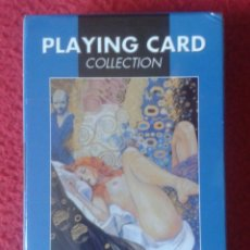 Barajas de cartas: BARAJA DE CARTAS PLAYING CARD COLLECTION CARDS THE ART OF EL ARTE MANARA PRECINTADA MUJERES COMIC. Lote 195986606