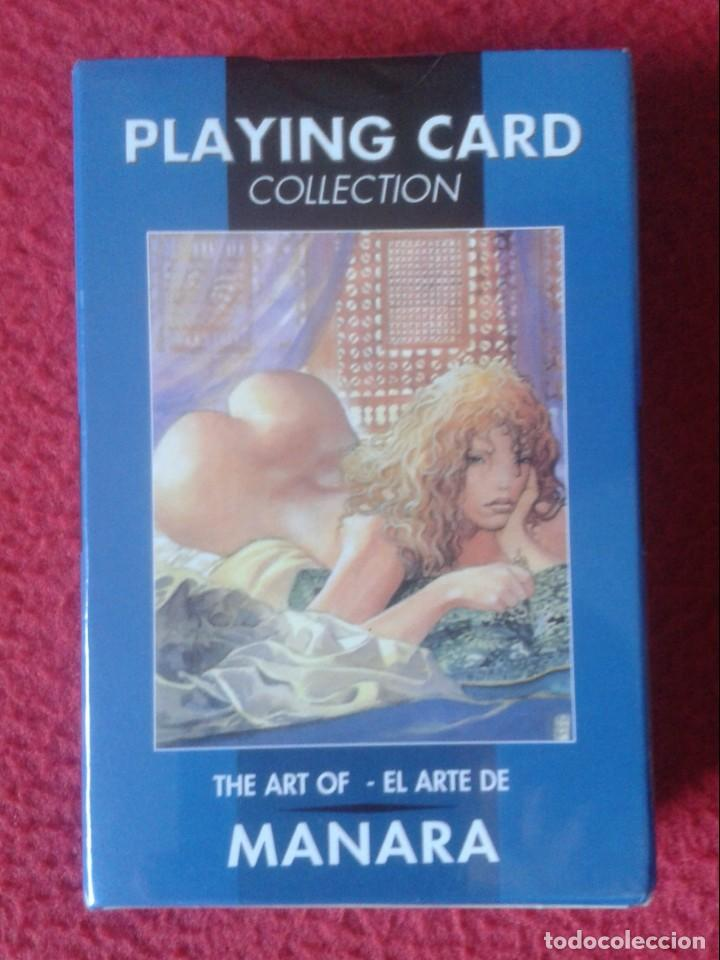 Barajas de cartas: BARAJA DE CARTAS PLAYING CARD COLLECTION CARDS THE ART OF EL ARTE MANARA PRECINTADA MUJERES COMIC - Foto 2 - 195986606