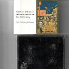 Barajas de cartas: BARALLAS POKER DE COCA COLA CLAN 1985. Lote 143070006